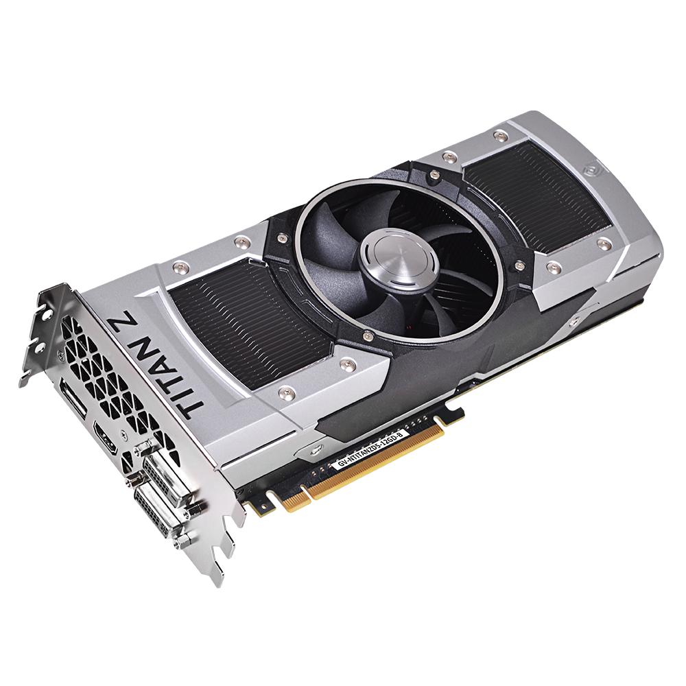 GV-NTITANZD5-12GD-B DUAL GPU GRAPHICS CARD