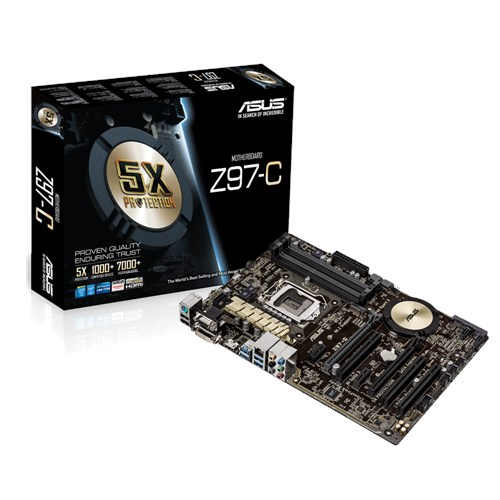 Motherboards ASUS Z97-C
