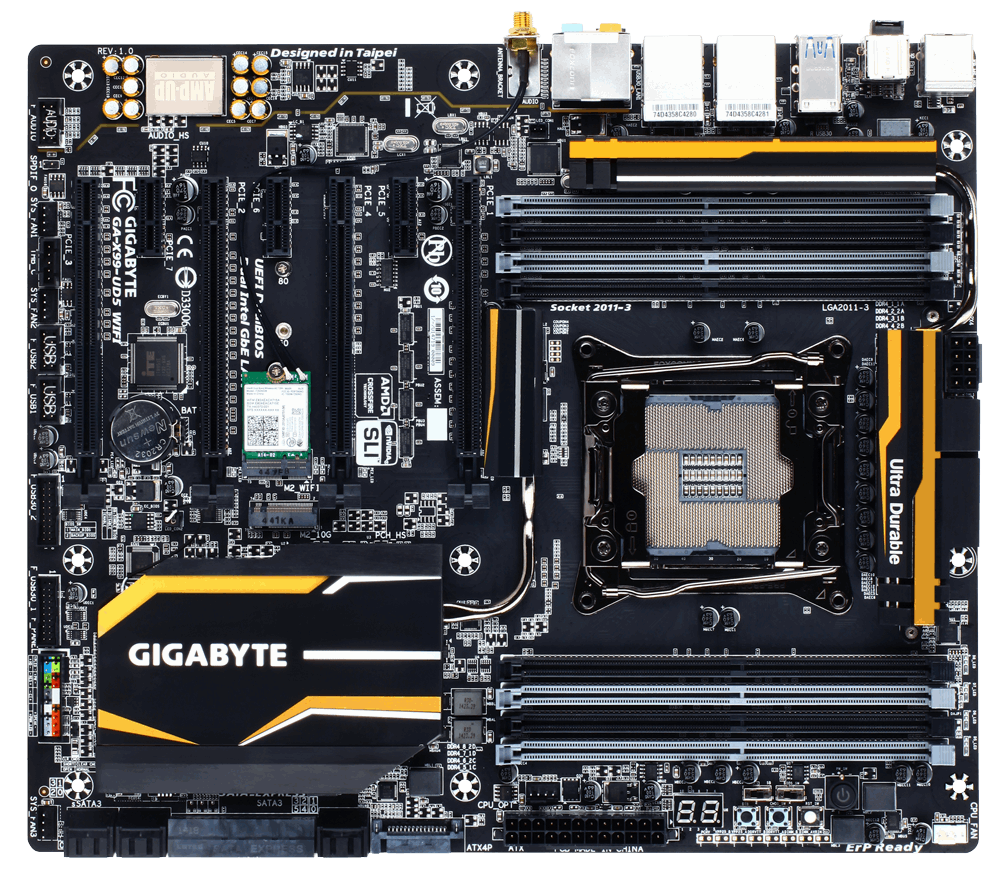 motherboard GA-X99-UD5 WIFI