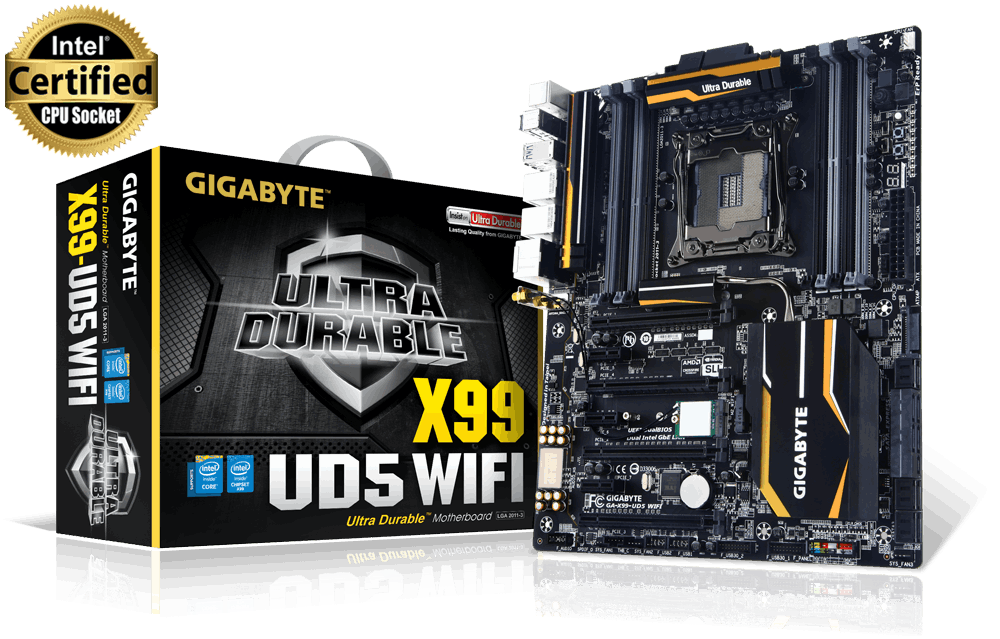 motherboard GA-X99-UD5- WIFI