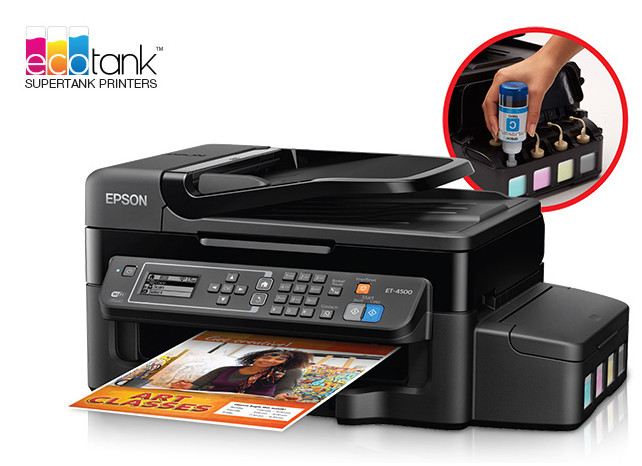 Epson WorkForce ET-4500 EcoTank™ All-in-One Printer