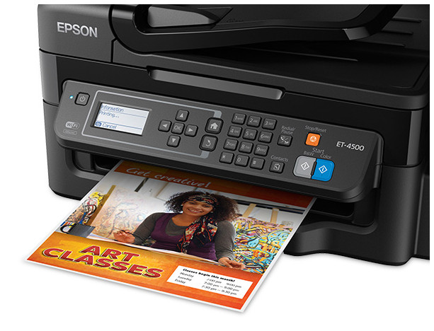 Epson WorkForce ET-4500 EcoTank  Printer