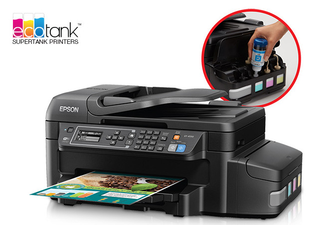 Epson WorkForce ET-4550 EcoTank™ All-in-One Printer