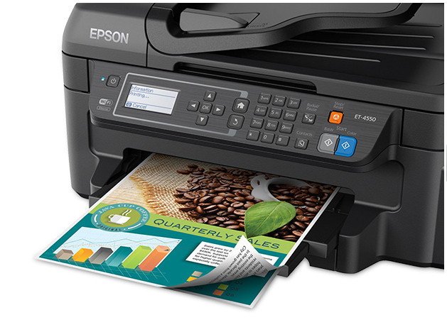 Epson WorkForce ET-4550 front