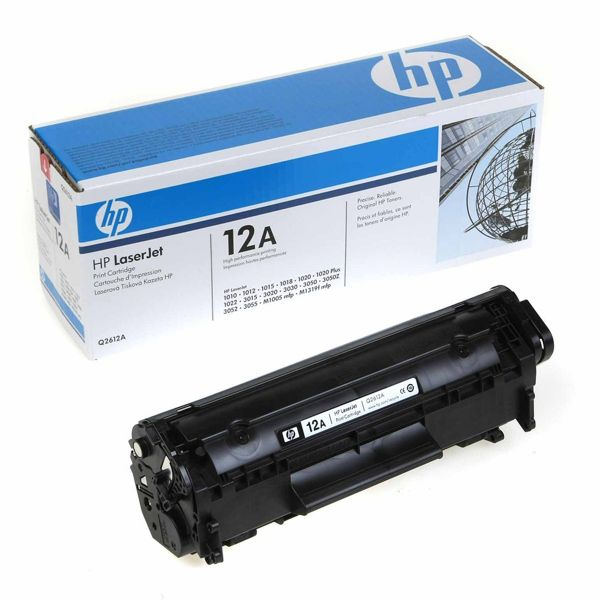 HP 12a Black Toner