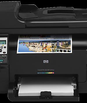 پرینتر لیزری رنگی سه کاره اچ پی HP LaserJet Pro 100 MFP M175nw