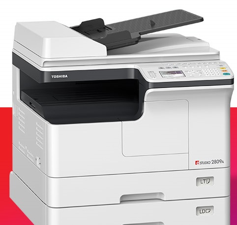 Toshiba-e-Studio 2809A photocopy