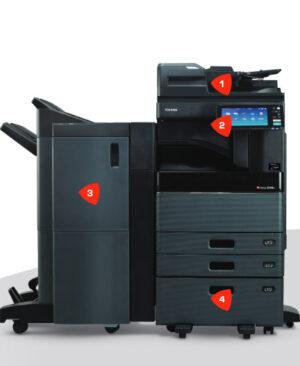 دستگاه کپی توشیبا 5008 - Toshiba e-STUDIO 5008 a