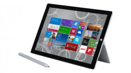 Microsoft Surface Pro 3 tablet e1441172208393