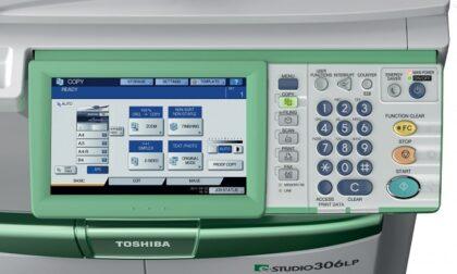 panel Toshiba e Studio 306LP