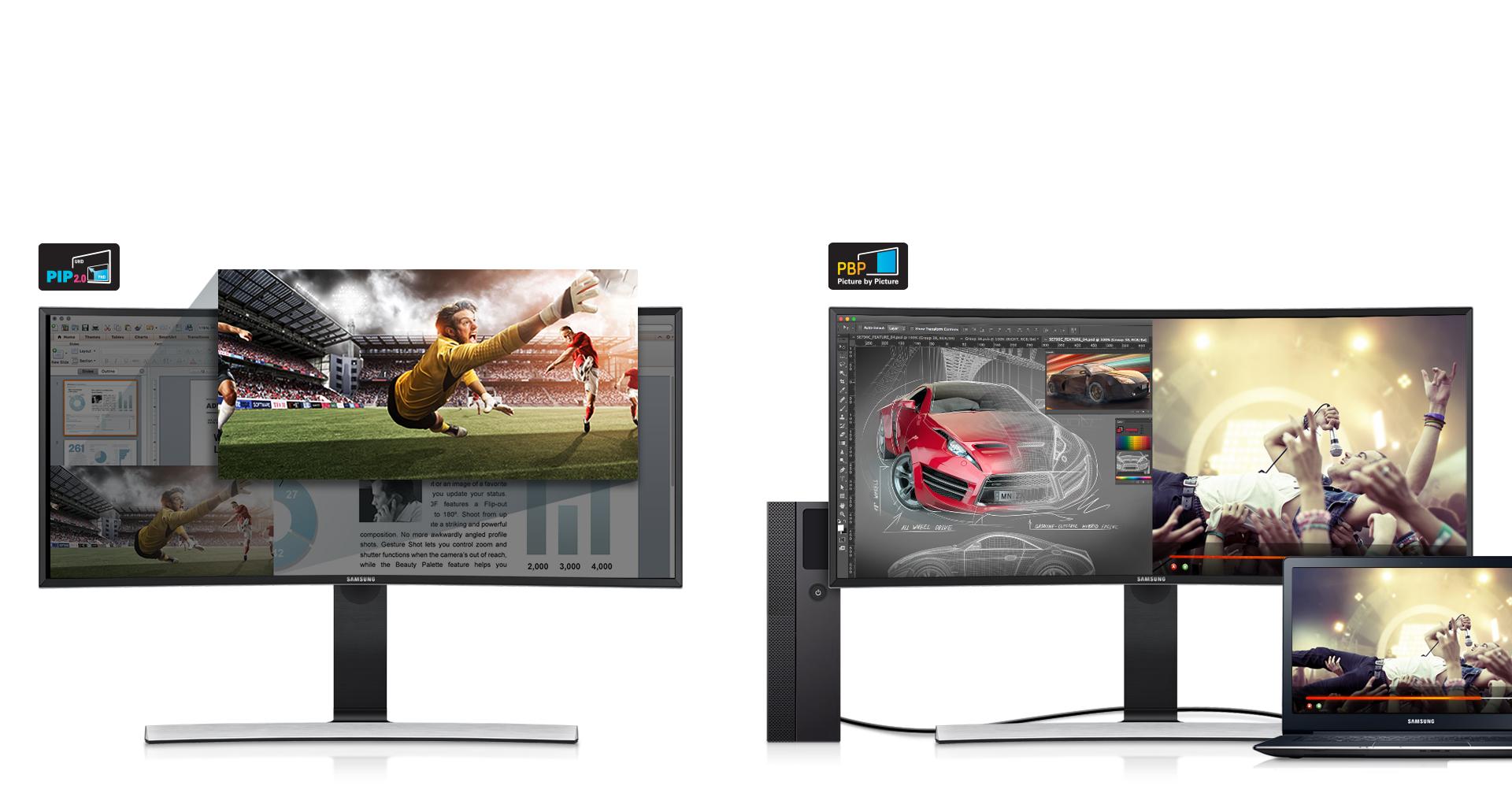 صفحه نمایش اولترا واید با قابلیت انجام چندین کار با سرعتی فوق العاده