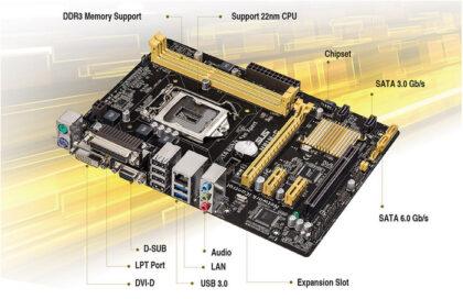 Motherboards Asus H81MC