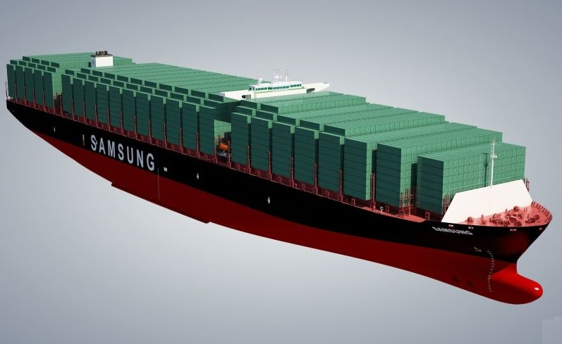 Samsung Is Building Largest Cargo Ship in the World
