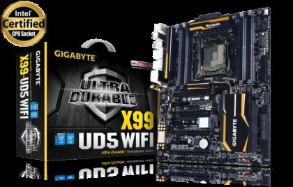 motherboard GA X99 UD5 WIFI2