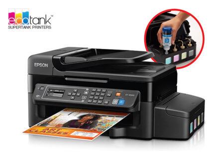 Epson WorkForce ET 4500 EcoTank™ All in One Printer