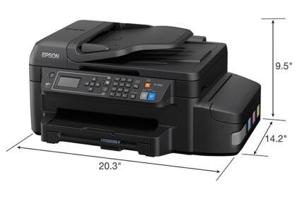 size Epson WorkForce ET 4550 EcoTank