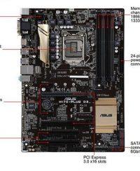 قیمت و مشخصات مادربرد ایسوس Asus B150-PLUS D3 Motherboard