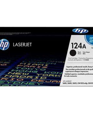 HP 124A black Q6000a