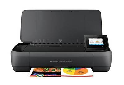 پرينتر سه کاره جوهرافشان اچ پی مدل HP OfficeJet 252 Mobile