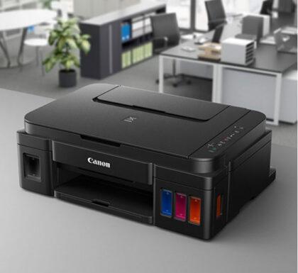 چندکاره جوهرافشان مخصوص چاپ عکس کانن مدل CANON PIXMA G2400 4 1
