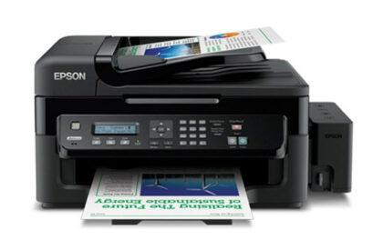 جوهرافشان رنگی چهارکارهی اپسون Epson L550 5