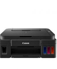 پرينتر رنگی سهکاره جوهرافشان چاپ عکس Canon PIXMA G2410