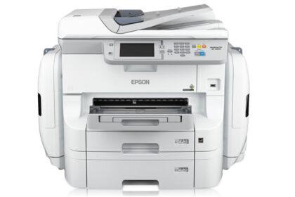 چاپگر رنگی 4 کاره اپسون WorkForce Pro WF-R8590 D3TW - چاپ A3