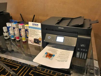 پرینتر چهار کاره جوهر افشان اپسون Epson ecotank LTS L6190
