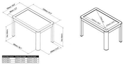 میز هوشمند پرومتین Activ table promethean