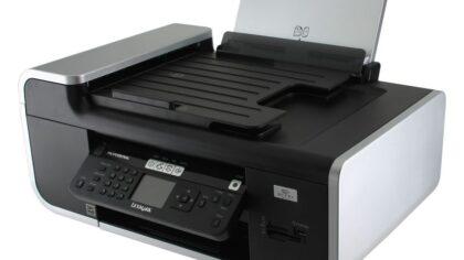 پرینتر چندکاره جوهرافشان لکسمارک مدل Lexmark X7675