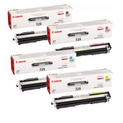 کارتریج ست چهار رنگ غیراورجینال کانن مدل 729 Canon