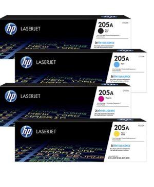 ست کارتریج تونر کداک چهار رنگ اچ پی مدل HP 125A