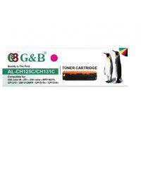 ست کارتریج اچ پی چهار رنگ جی اند بی مدل HP 125A-128A-131A G&B