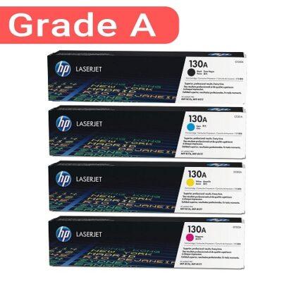 ست کارتریج اچ پی چهار رنگ جی اند بی مدل HP 126A-130A G&B