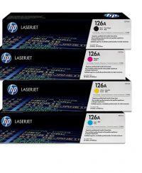 ست چهار رنگ کارتریج تونر کداک مدل HP 126A