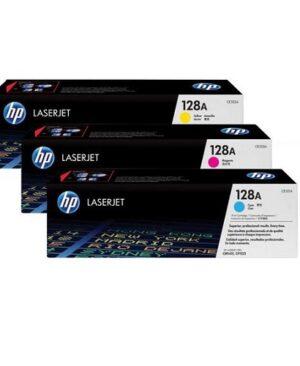 کارتریج چهار رنگ اچ پی مدل HP 128A