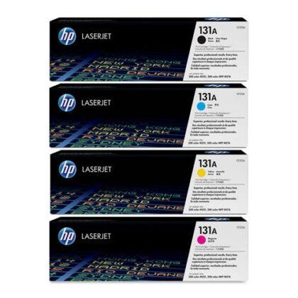 ست کارتریج تونر کداک چهار رنگ اچ پی مدل HP 131A