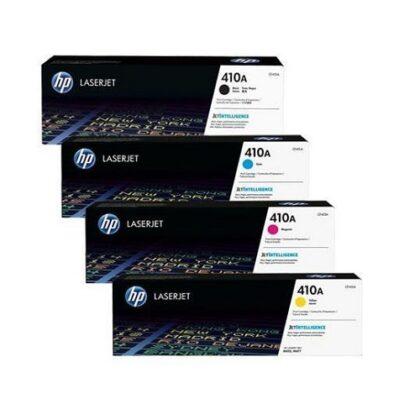 ست چهار رنگ کارتریج اچ پی مدل HP 204A مخصوص پرینترهای اچ پی