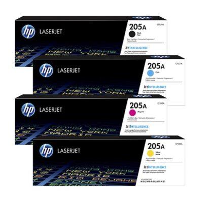 کارتریج ست چهار رنگ اچ پی مدل HP 205A