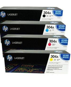 کارتریج ست چهار رنگ اچ پی مدل HP 304A