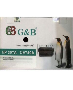 ست کارتریج اچ پی چهار رنگ جی اند بی مدل HP 307A G&B