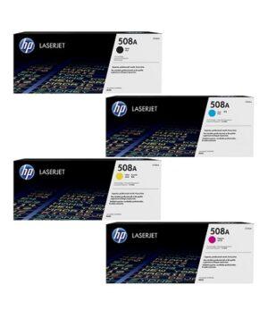ست کامل کارتریج لیزری اچ پی مدل HP 508A