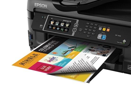 EPSON wf7610 9