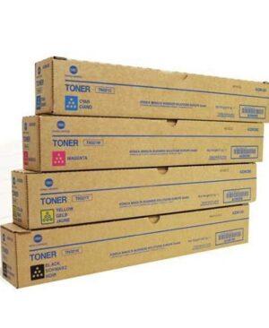 ست کارتریج تونر اورجینال کونیکا مینولتا مدل Konica Minolta C451, C550